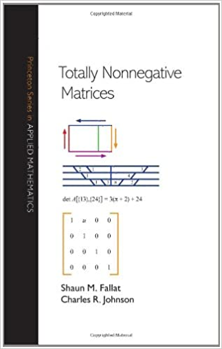 Totally Nonnegative Matrices (Princeton Series in Applied