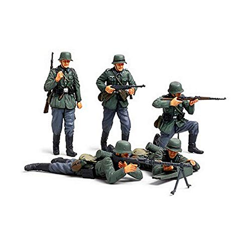 Part & Accessories 35293 1/35 German Infantry Set French Campaign Miniatures Assembly Military figures Model Building Kits oh RC toy