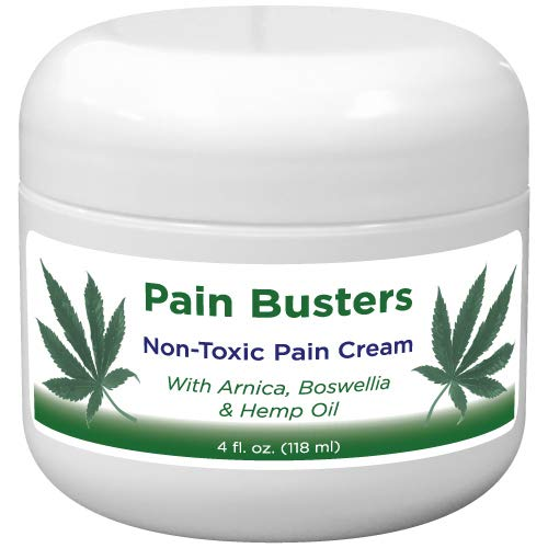 (Pain Busters Arnica, MSM & Hemp Oil Pain Relief Cream )