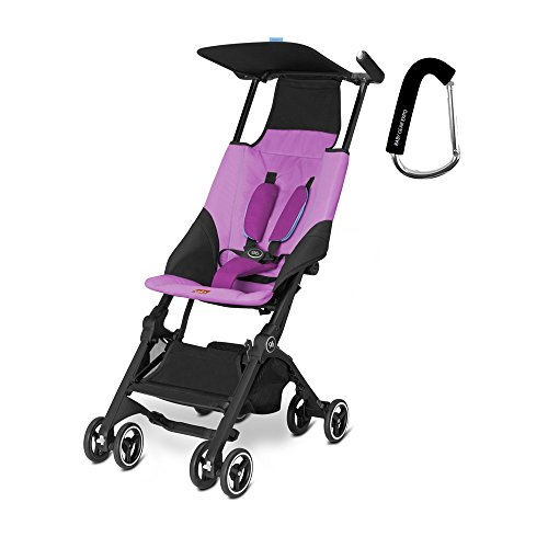 2017 GB Pockit Stroller – FREE BABY GEAR XPO STROLLER HOOK WITH PURCHASE (Posh Pink)