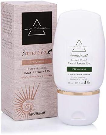 Isabella Monteluna 73% Crema para manos de baba de caracol con aceite de jojoba y nueces de macadamia. Crema hidratante y nutritiva anticongelante ...