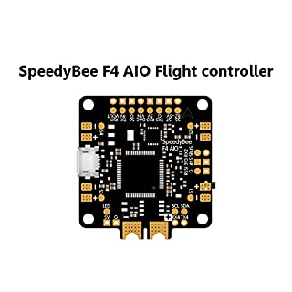 SAUJNN SpeedyBee F4 AIO Flight Controller BLE Module Integrated Betaflight OSD Flight Control for FPV Freestyle Racing Drone
