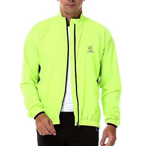 4ucycling Lambda Men's Windproof Cycling Jacket Quick Dry...