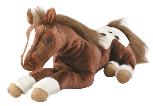 Breyer S'more Dark Chestnut Appaloosa Plush Horse (Breyer Chestnut Horse)