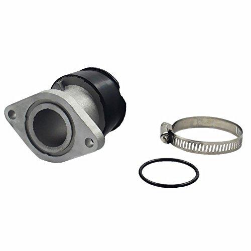 Aquiver Auto Parts New Intake Manifold Carburetor Boot for 1999-2004 Yamaha Bear Tracker YFM250 (2001 Big Bear 400 Intake Manifold)