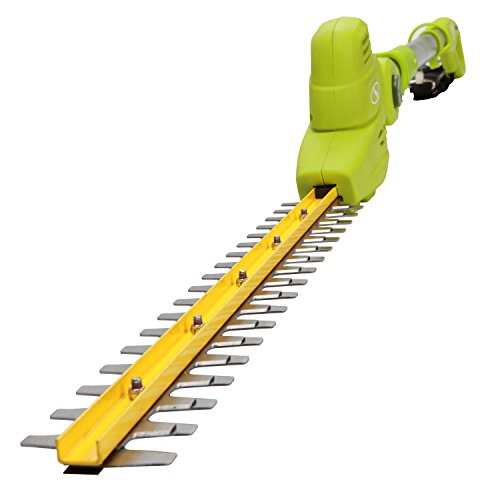 (Sun Joe SJH901E 18-Inch Electric Telescoping Pole Hedge Trimmer)
