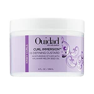 Ouidad Curl Immersion Hi-defining Custard, 8 Ounce