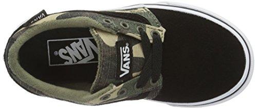 Vans Yt Chapman Stripe, Zapatillas para Niños Verde (Textile)
