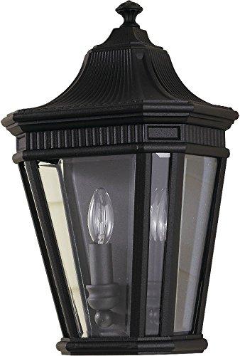 - Feiss OL5403BK Cotswold Lane Outdoor Lighting Wall Pocket Sconce, Black, 2-Light (10