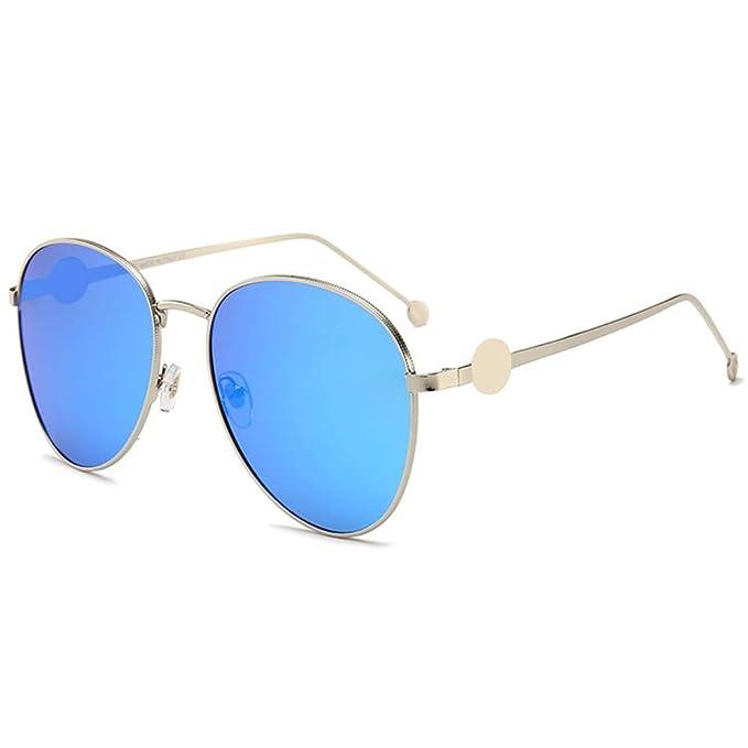 FURUDONGHAI Gafas de Sol polarizadas Moda Náutica Película ...