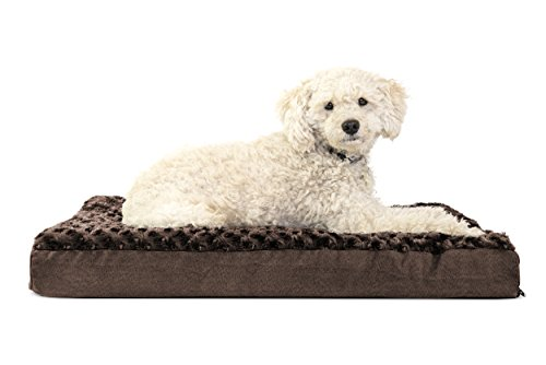 Furhaven Pet Dog Bed | Deluxe Orthopedic Mattress Pet Bed fo