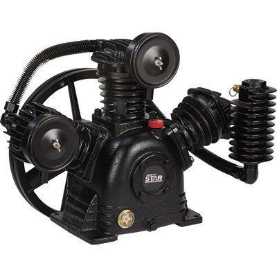 NorthStar Air Compressor Pump 2-Stage, 3-Cylinder, 14.9 CFM @ 90 PSI (Air Accessories Compressor Two Stage)