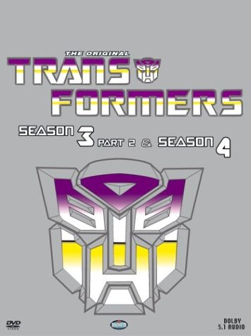 (Transformers Season 3 Part 2/Season 4 Boxed Set)