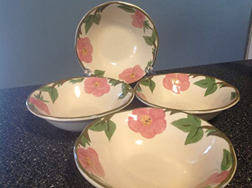 Franciscan Desert Rose Soup Cereal Bowls - Set/4