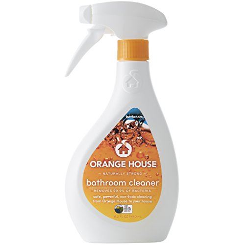 Orange House Bathroom Cleaner, Non-Toxic and Naturally Powerful, 16.2 fl. (Natural Bathroom Tiles)