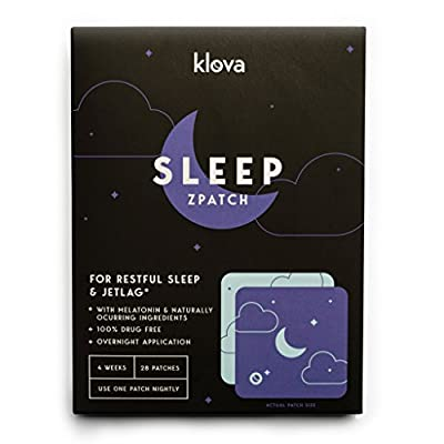 Klova Sleep Patch with Melatonin and Natural Ingredients promotes restful sleep and eliminates jet lag
