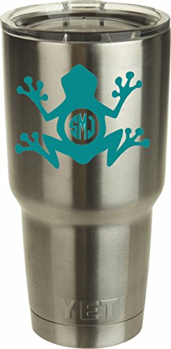 Frog Monogram DECAL ONLY Tumbler product image