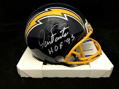 - Dan Fouts San Diego Chargers Autographed Signed Mini Helmet Bas Beckett Coa - Certified Signature