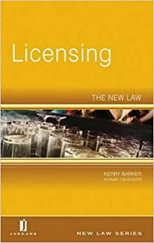 Book Licensing: The New Law (New Law Series)