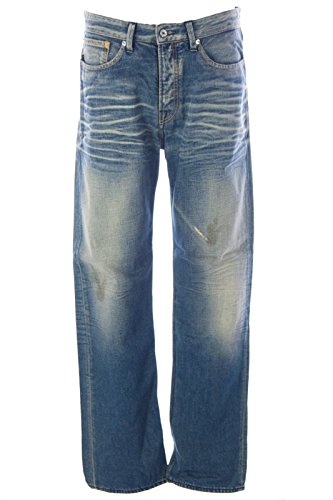 Blue Blood Men's Jack Dirty Wash Denim Jeans 31W x 32L PD - Dirty Wash Jeans