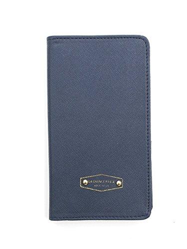 Zando Unisex Passport Holder Compact Case Multi-Purpose Travel Card Wallets Navy from Zando