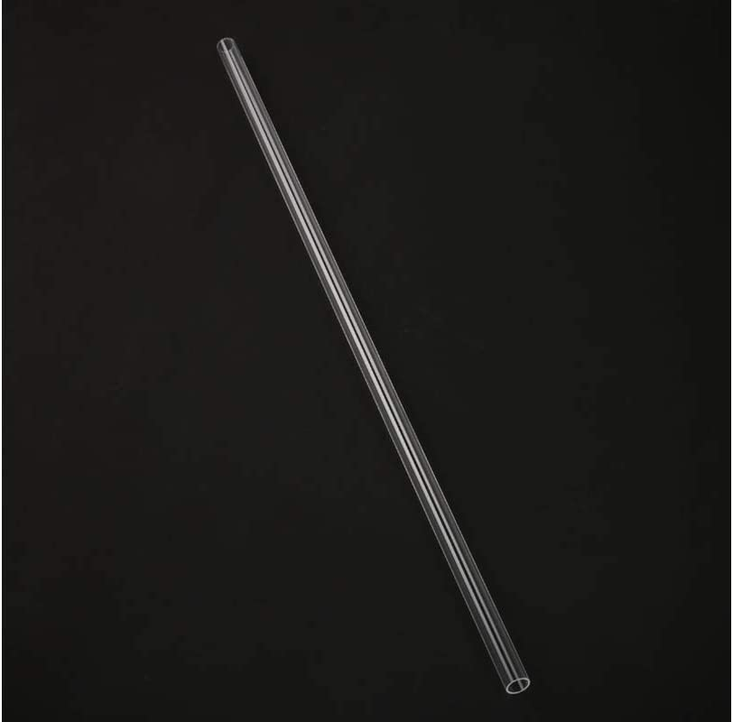 BITSPOWER Crystal Link Tube Outer Diameter 12mm-Length 500mm Clear no Groove BP-NCCLT12AC-L500