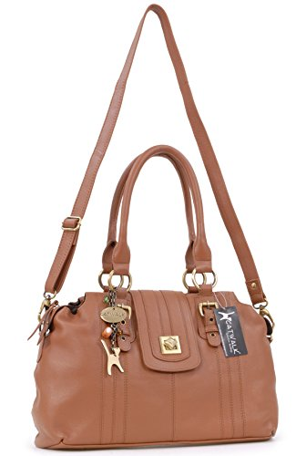 à Collection Sac Tanne lock twist Catwalk Kate main signé en Fermeture cuir ZvTdvAqr