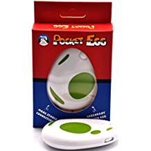 CtrlDepot Pocket EGG Toys for Pokemon Go Plus Auto Catch & Collect Catcher Bluetooth Interactive for IOS 12.0/Android 8.0 (Green)