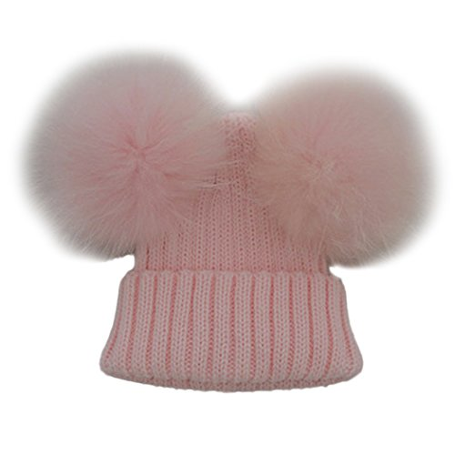 MIOIM Baby Boys Girls Winter Beanie Wool Knit Hat Raccoon for sale  Delivered anywhere in USA