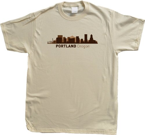 Portland, OR City Skyline Unisex T-shirt Oregon Hometown Pride Tee