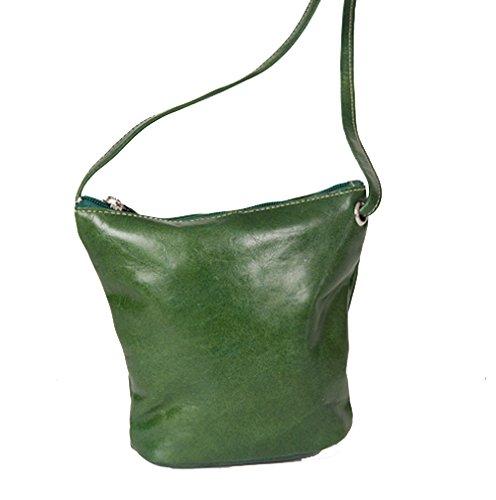 David King & Co. Florentine Top Zip Mini Bag 3518 Purple, Green, One - David Zip King Handbag Top