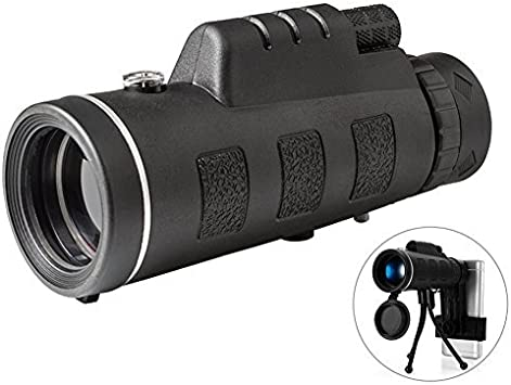 Day /& Night Vision 40X60 High Power Zoom Optical Monocular Telescopes Outdoor IM