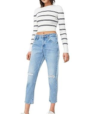 Mango Women's Jack Boyfriend Jeans