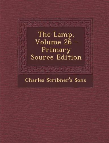 Lamp, Volume 26
