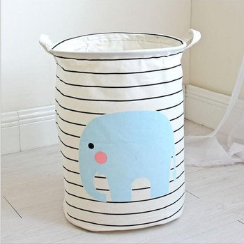 BranXin - Large Laundry Basket Foldable Baby Toys Storage Ba