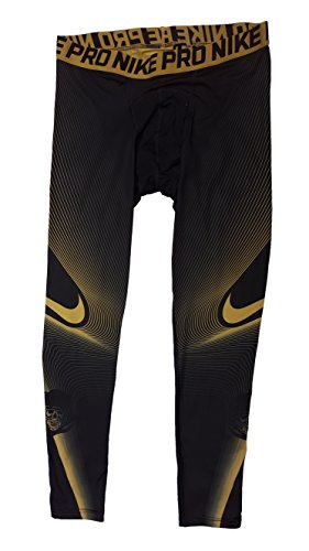 Gold Gold Black Pro Flat Nike Mens Tights Hypercool Flat p8AYnW