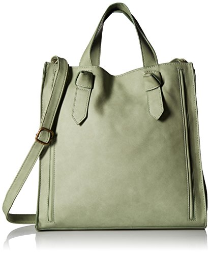 T-Shirt & Jeans Knot Handle Tote, Mint