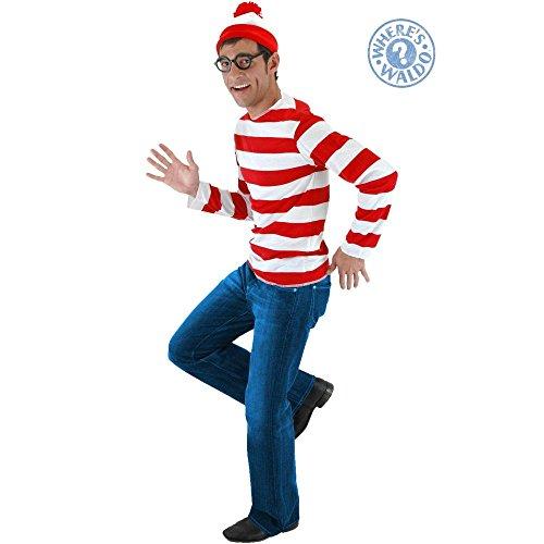 Elope - Where's Waldo Kit - 36-40 (Happy Halloween Waldo)