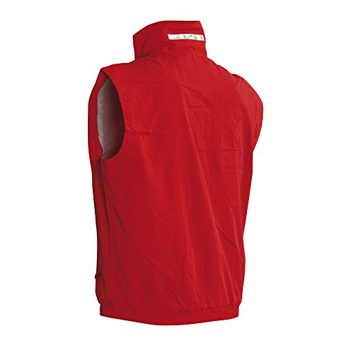 Red Estivo Bianco Uomo Gilet Nylon 100 nbsp;antivento Slam q7gp1Rg