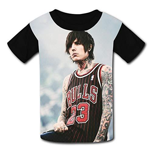 Oli-Sy-kes Bring Me The H-orizon Children T-Shirts Fashion Short Sleeve Youth Tee Shirt Black