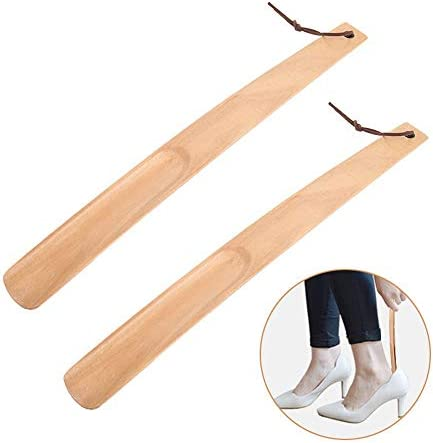 靴ホーン 大人の男性と女性は靴を着用する高齢者やロングハンドル靴ホーン(38センチメートル)に適してい 自宅でのささやかな贈り物 (色 : Multi-colored, Size : 38cm)
