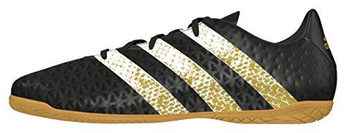 adidas Ace 16.4 In, Botas de Fútbol para Hombre Negro (Negbas / Ftwbla / Dormet)