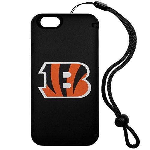 Siskiyou The Ultimate Game Day Case Wallet Case for iPhone 6 Plus/6S Plus - Retail Packaging - Cincinnati Bengals