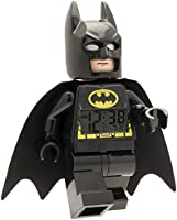 Lego 9005718 Reloj Despertador Batman, color Negro