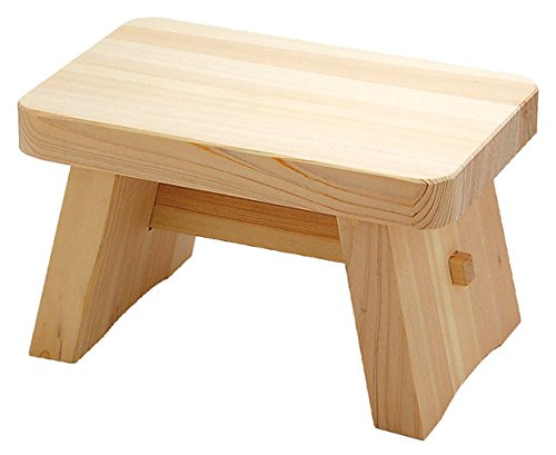 Bath Chair of Japanese Cypress(Hinoki) Bath Goods Medium