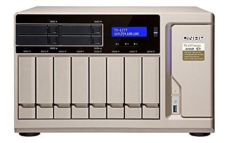 QNAP TS-1277 Ethernet Torre Oro NAS - Unidad Raid (Unidad de Disco ...