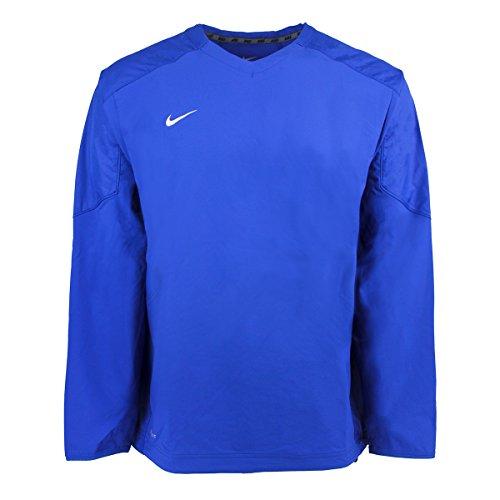 Nike V-neck Pullover (Nike Men's Staff Ace Dri-Fit Pullover Royal/White 2XL)