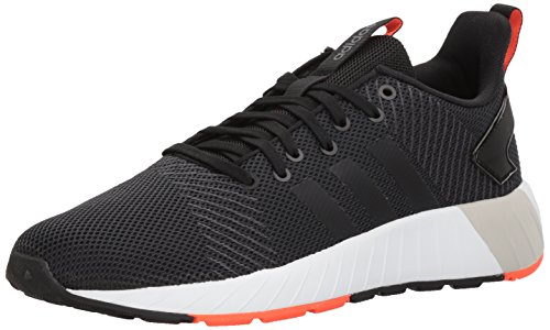 adidas Men's Questar BYD, core Black/Solar red, 6.5 M US by adidas (Image #1)