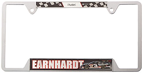 NASCAR Dale Earnhardt Metal License Plate Frame (Plate Earnhardt Dale License)