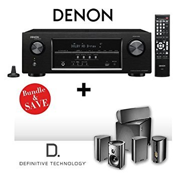 Denon AVR-S500BT 5.2 Channel Full 4K Ultra HD A/V Receiver w